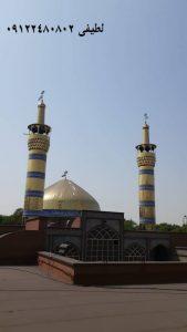 ساخت گنبد و گلدسته در خوزستان
