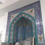 سردرب مسجد کاشی کاری سردر مساجد