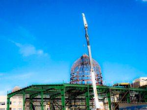 پروژه ساخت گنبد مدل مسجد النبی